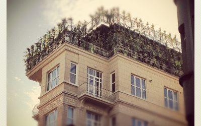 A Building Top in Istanbul