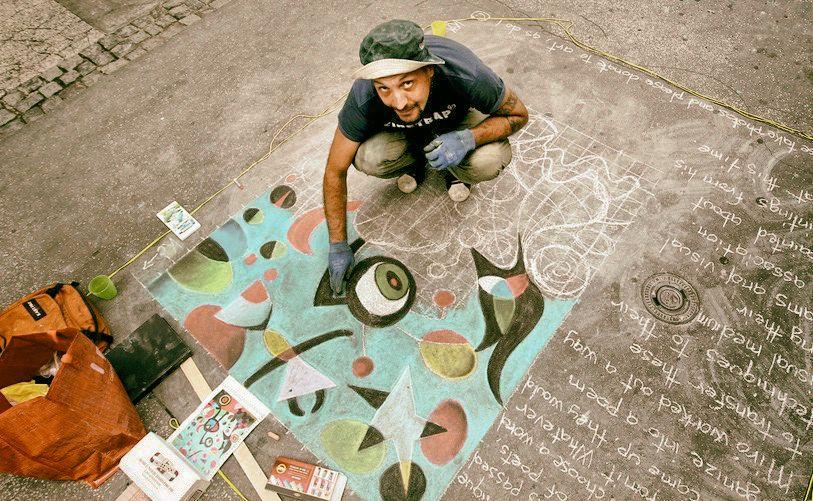 idnes street chalk brno