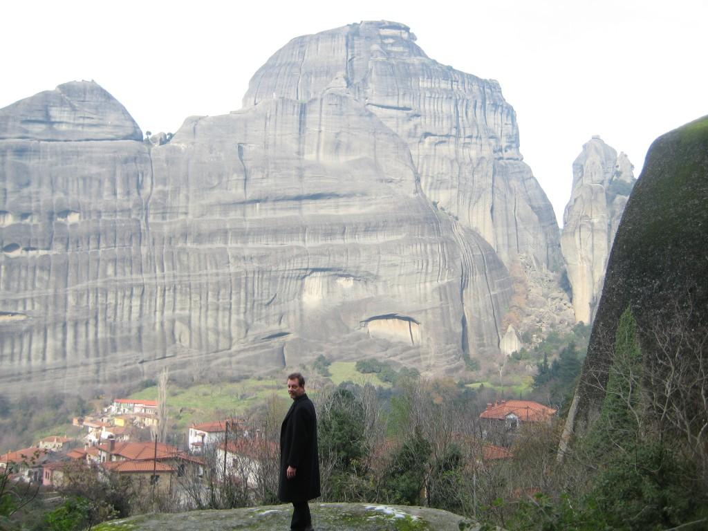 David at Agios Nikolaos Church, Greece