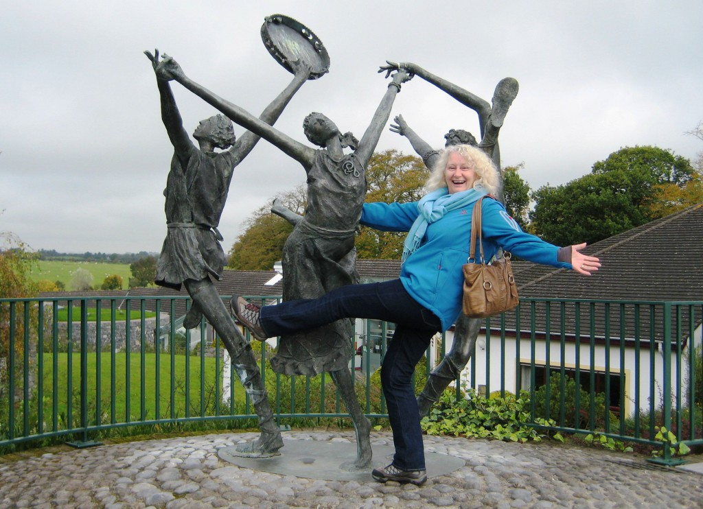 Fun times at the Rock of Cashel, Ireland