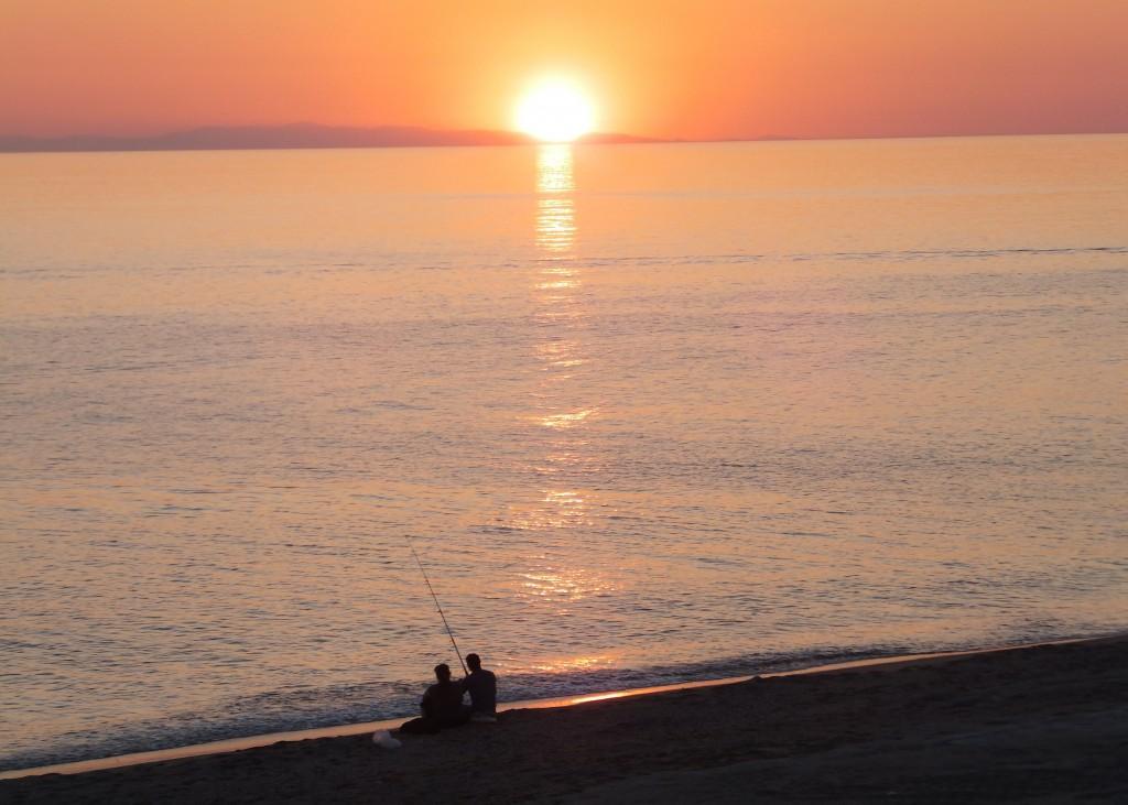 Sunset in Kargicak, Turkey