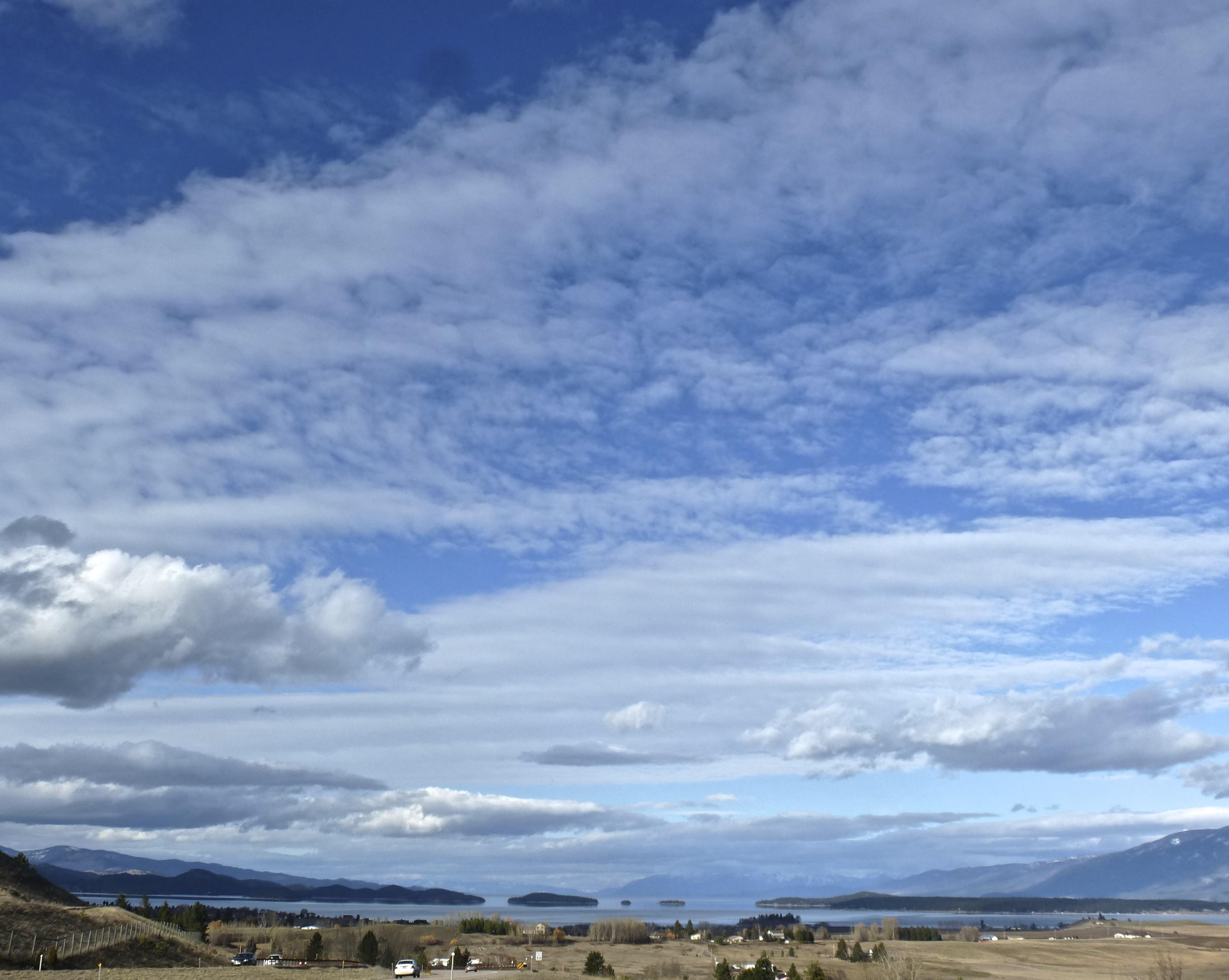 View of Flathead Lake.