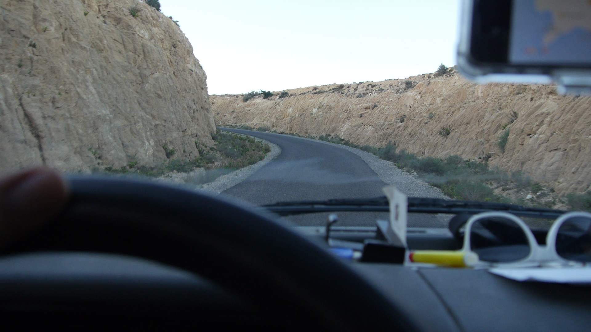 Driving vanlife in Morocco
