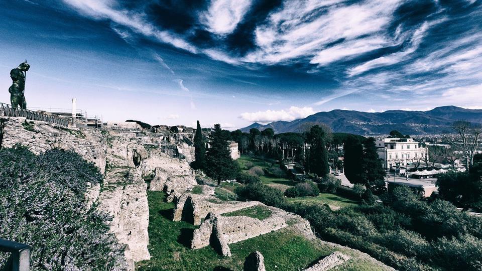 The Outskirts of Pompeii, Italy