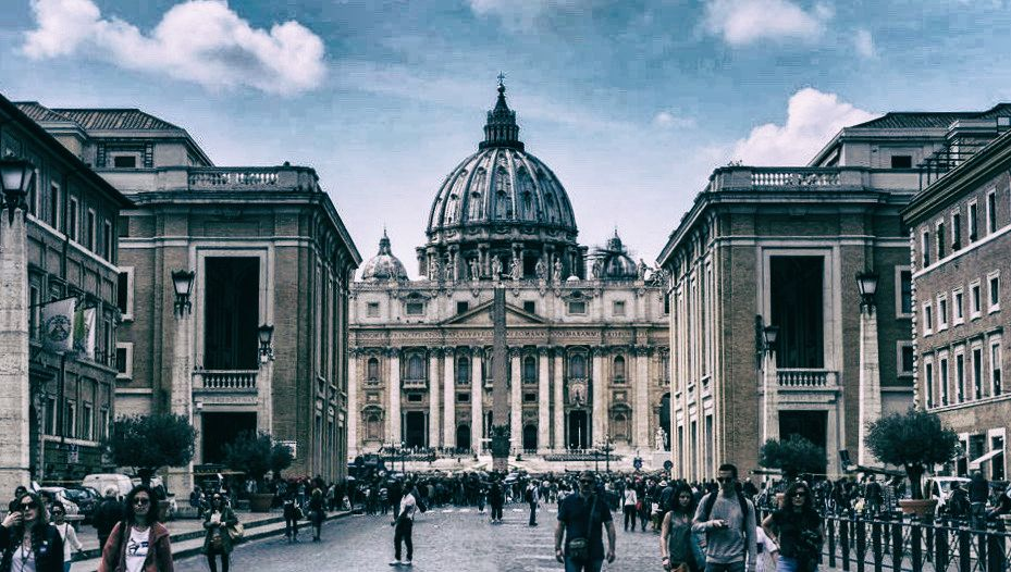 Facing the Vatican, Vatican City.