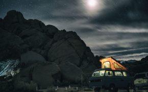 Campervan at Night