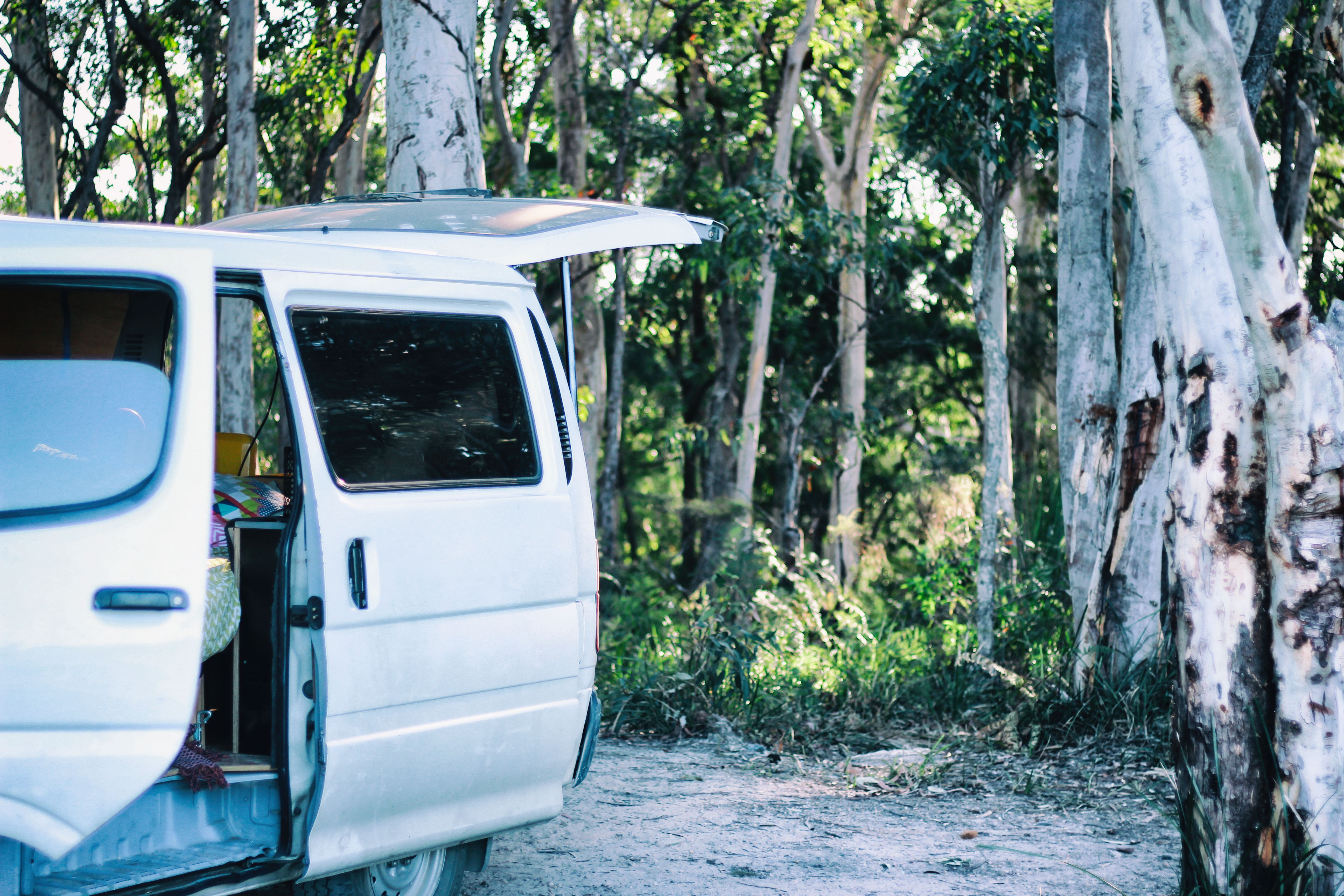 Single vanlife digital nomad - Sacky from SUP Board Guide