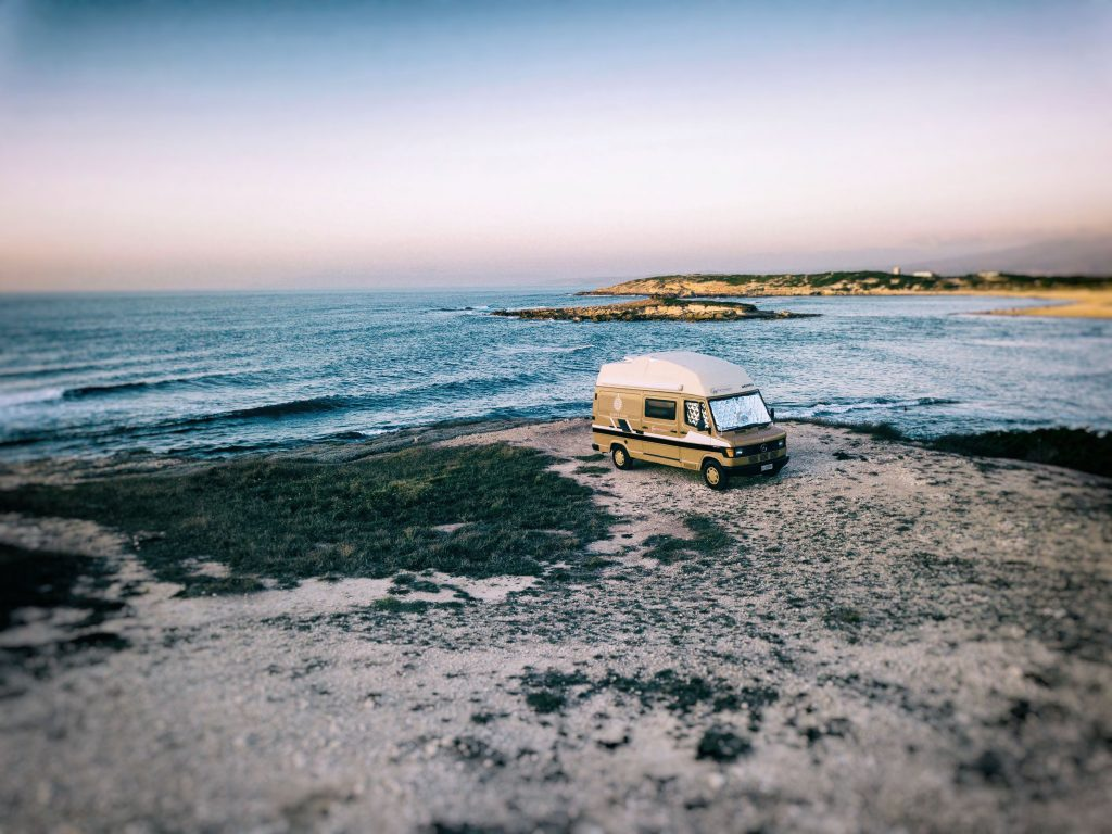 yep campervans sardinia beach