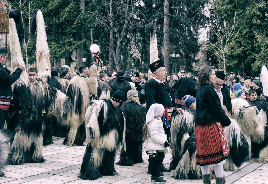 Kukeri festival Razlog Bulgaria