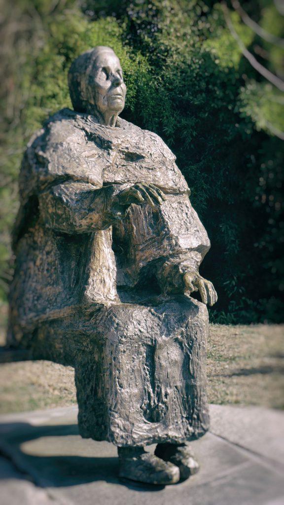 Statue of Baba Vanga prophetess