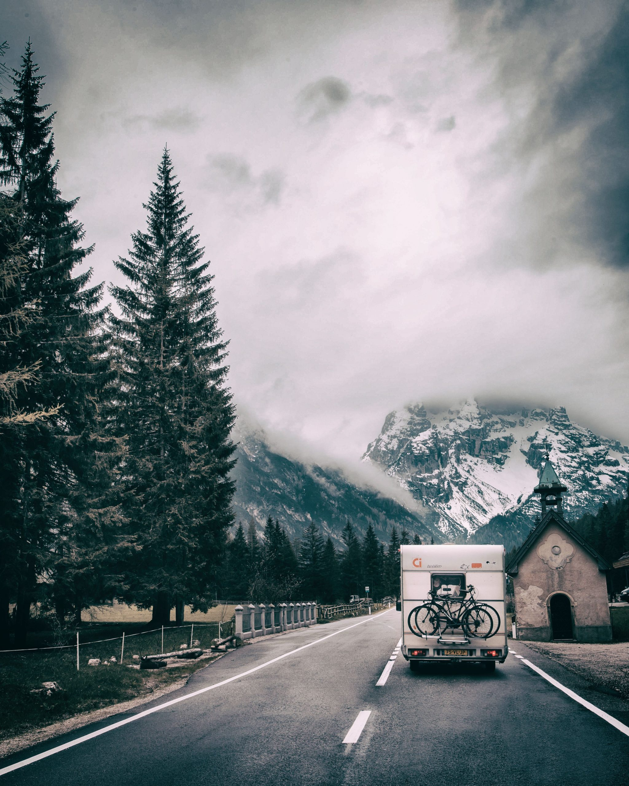 Winterising your motorhome on the road
